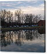 Cushwa Basin C And O Canal Canvas Print