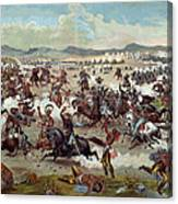 Custer's Last Charge Canvas Print