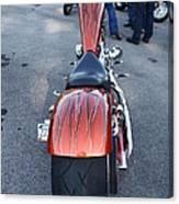 Custom Bike Canvas Print