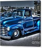 Custom Chevy Pickup Canvas Print