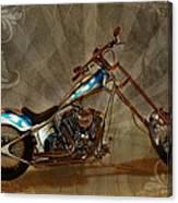 Custom Desperado Chopper 2014 Canvas Print