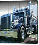Custom Dump Truck Canvas Print