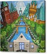 Custom Home Interiors - Ottawa Landmarks Canvas Print