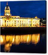 Custom House And International Financial Services Centre Canvas Print