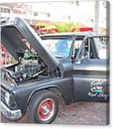 Custom Pickup Truck Canvas Print