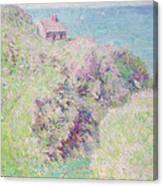 Customs House At Varengeville Canvas Print
