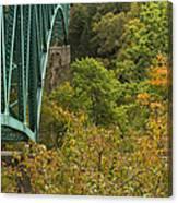 Cut River Bridge 1 A Canvas Print