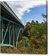 Cut River Bridge 1 C Canvas Print