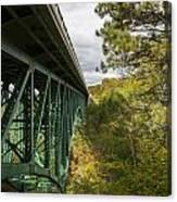 Cut River Bridge 3 A Canvas Print