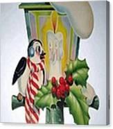 Cute Vintage Christmas Canvas Print