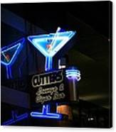 Cutters Lounge And Cigar Bar Canvas Print