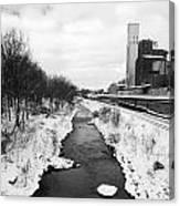 Cuyahoga River Canvas Print