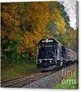 Cuyahoga Valley Scenic Railroad 2 Canvas Print