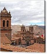 Cuzco Plaza Del Armas Canvas Print