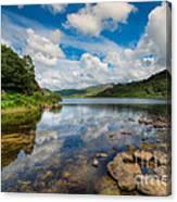 Cwellyn Lake Wales Canvas Print