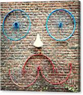 Cycle Face Canvas Print
