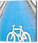 Cycle Path Canvas Print
