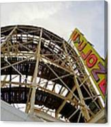 Cyclone Roller Coaster Canvas Print