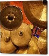 Cymbals Canvas Print