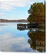 Cypres Reflections Canvas Print