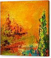 Cypress Gold Canvas Print