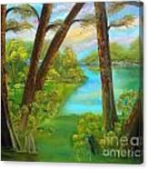 cypress Hidout Canvas Print