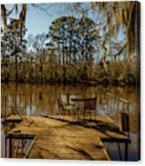 Cypress Trees At Caddo Lake State Park Canvas Print