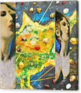 Cyprus And Aphrodite Canvas Print