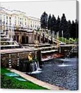 Czar Summer Palace Fountain Canvas Print