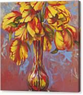 Czech Tulips Canvas Print