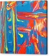 D In Harmony Canvas Print