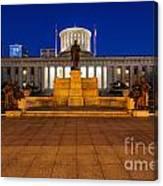 D13l112 Ohio Statehouse Photo Canvas Print