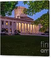 D13l94 Ohio Statehouse Photo Canvas Print