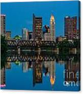 D2l64 Columbus Ohio Skyline Canvas Print