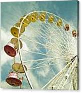 Da Big Wheel Canvas Print