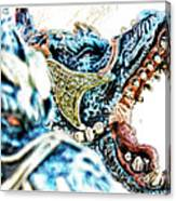 Da Dragon Comic IIacd Canvas Print
