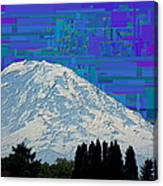 Da Mountain Cubed 1 Canvas Print