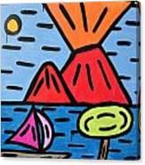 da Posillipo - America's Cup Canvas Print