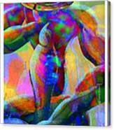 Daddy Is Thinking Again Canvas Print