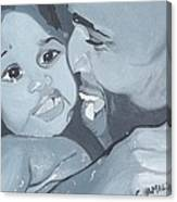 Daddy's Girl Canvas Print