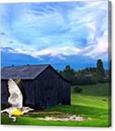 Dad's Favorite Bird Meadowlark Canvas Print