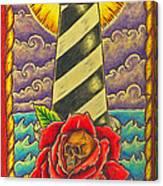Dad's Lighthouse Canvas Print
