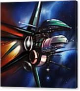 Daedalus Destroyer Canvas Print