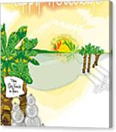 dafoi xMas Card_005 Canvas Print