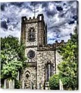 Dagenham Village Church Canvas Print
