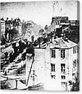 Daguerreotype, 1838 Canvas Print