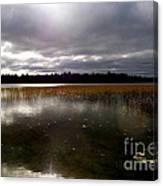 Dahler Lake In Emily Minnesota Canvas Print