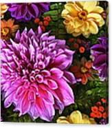 Dahlia Delight Canvas Print