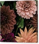 Dahlia Heaven Canvas Print