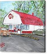 Dairy Queen  Canvas Print